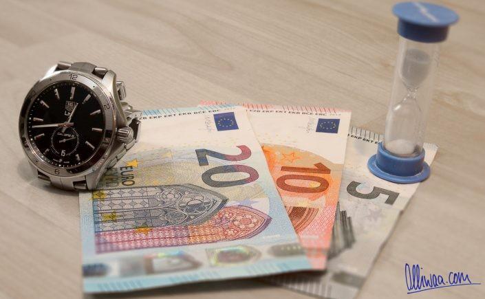 Zeit ist Geld ist Zeit