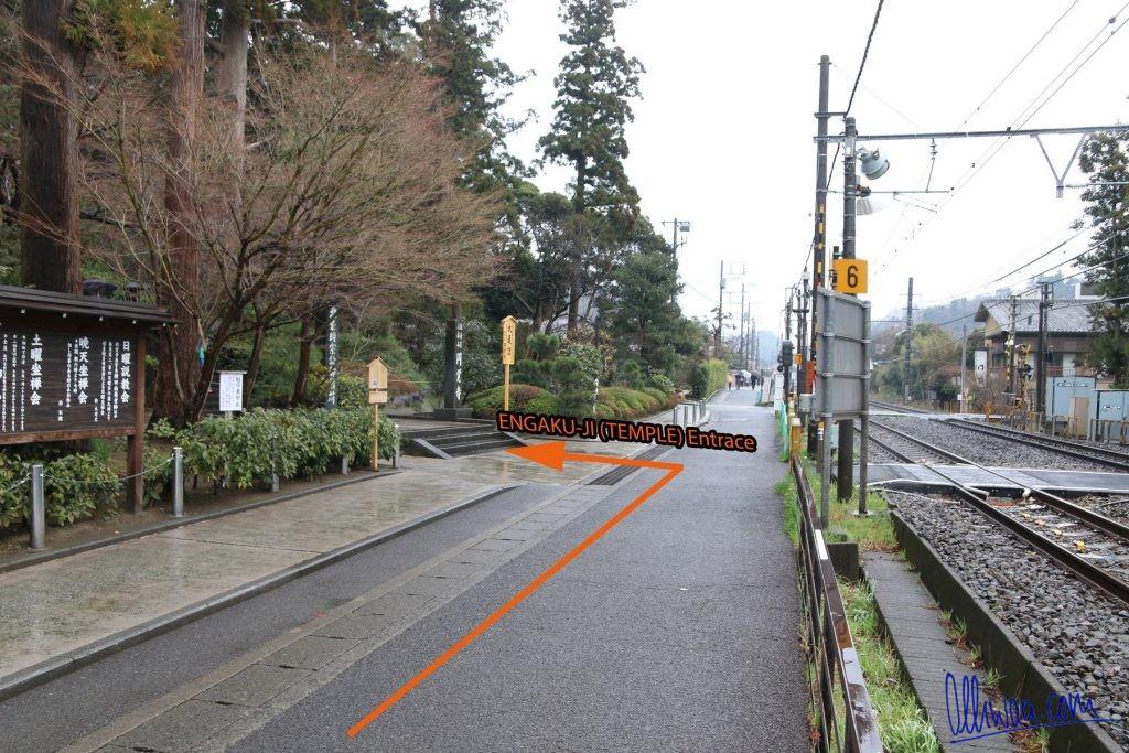Kamakura Engaku-Ji Temple Entrance