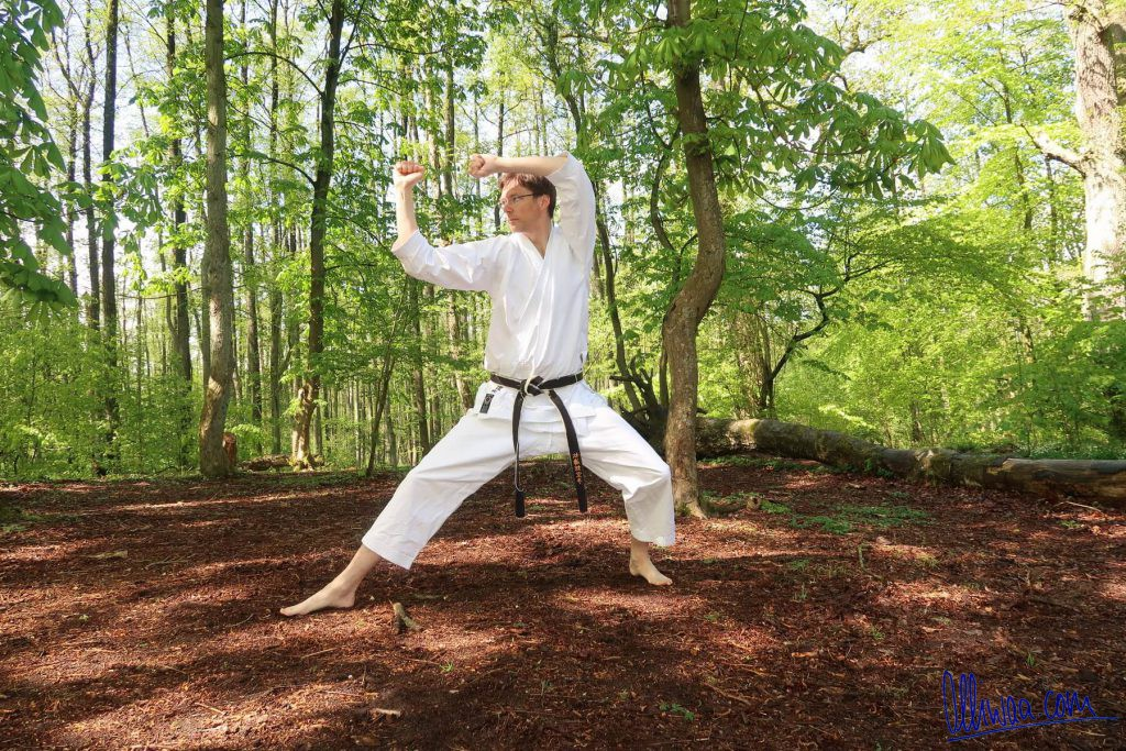 Karate Waldtraining