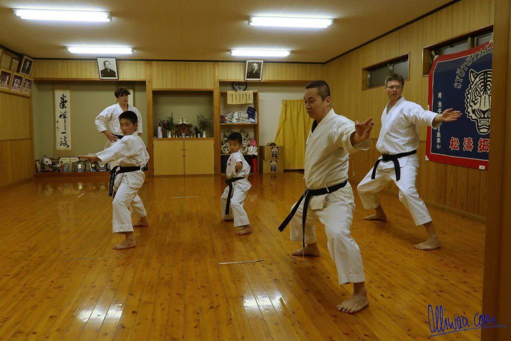Karate in Kumamoto